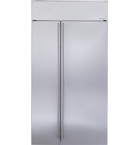 "Thumbnail of Monogram 42"" Built-In Side-by-Side Refrigerator"