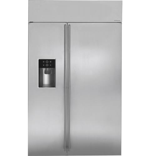 "Thumbnail of Monogram 48"" Built-In Side-by-Side Refrigerator with Dispenser"