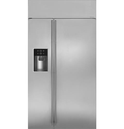 "Thumbnail of Monogram 42"" Built-In Side-by-Side Refrigerator with Dispenser"