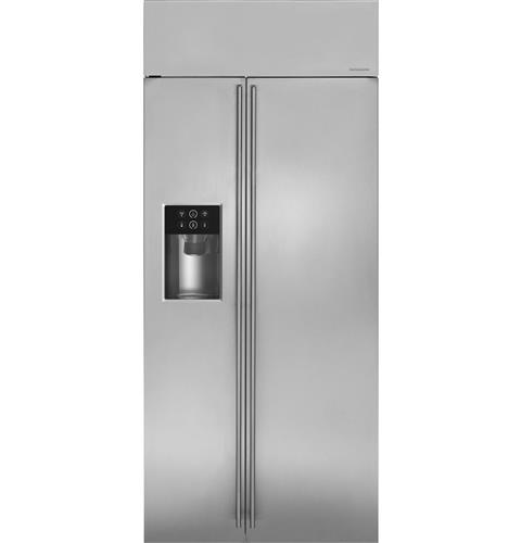 "Thumbnail of Monogram 36"" Built-In Side-by-Side Refrigerator with Dispenser"