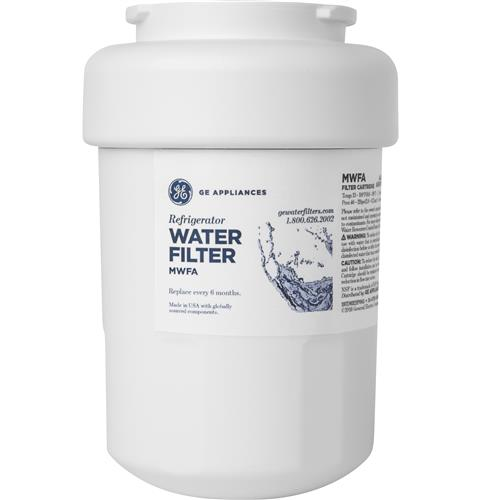 GE® REFRIGERATOR WATER FILTER — Model #: MWFA