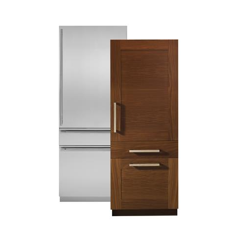Zic30gnhii Monogram 30 Integrated Customizable Refrigerator For Single Or Dual Installation Liances