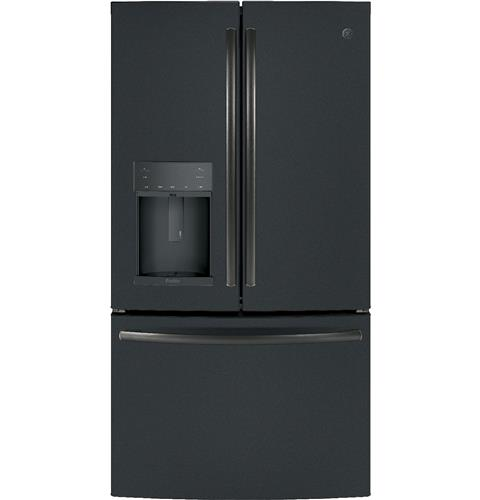 GE Profile™ Series ENERGY STAR® 22.2 Cu. Ft. Counter-Depth French-Door Refrigerator with Hands-Free AutoFill– Model #: PYE22KELDS