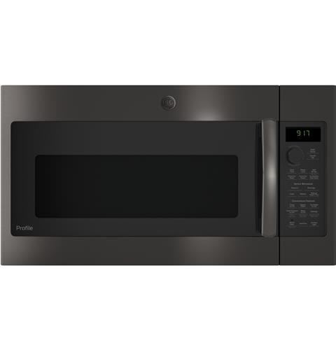 GE Profile™ Series 1.7 Cu. Ft. Convection Over-the-Range Microwave Oven– Model #: PVM9179BLTS
