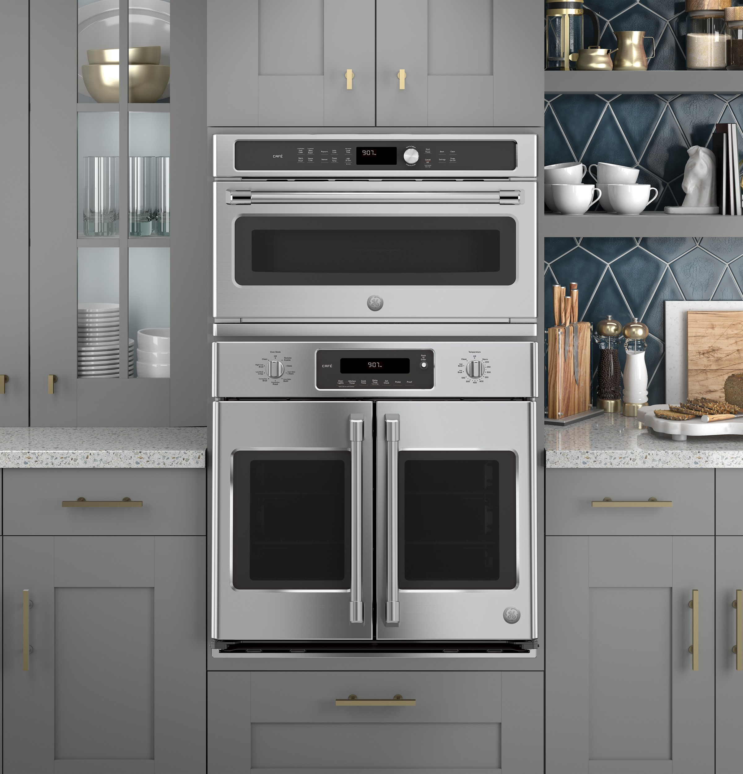 Ge Caf Series 30 Built In French Door Single Convection Wall Oven True T 23 Wiring Diagram 1 Of