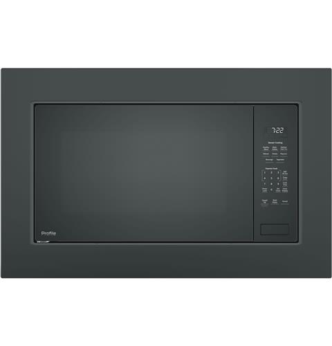 GE Profile™ 2.2 Cu. Ft. Built-In Sensor Microwave Oven– Model #: PEB7227DLBB