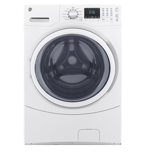 GE® 4.5 DOE cu. ft. Capacity Front Load ENERGY STAR® Washer– Model #: GFW430SSMWW