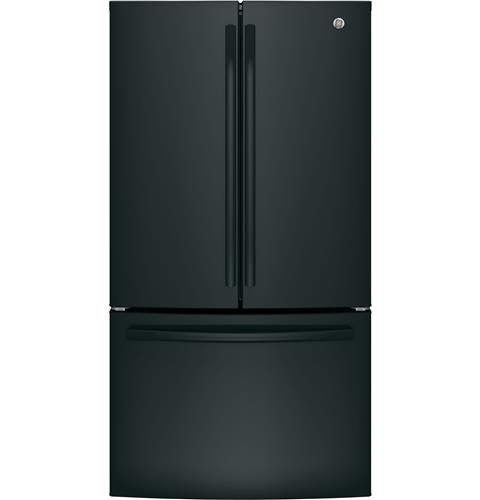 GE® ENERGY STAR® 27.0 Cu. Ft. French-Door Refrigerator– Model #: GNE27JGMBB