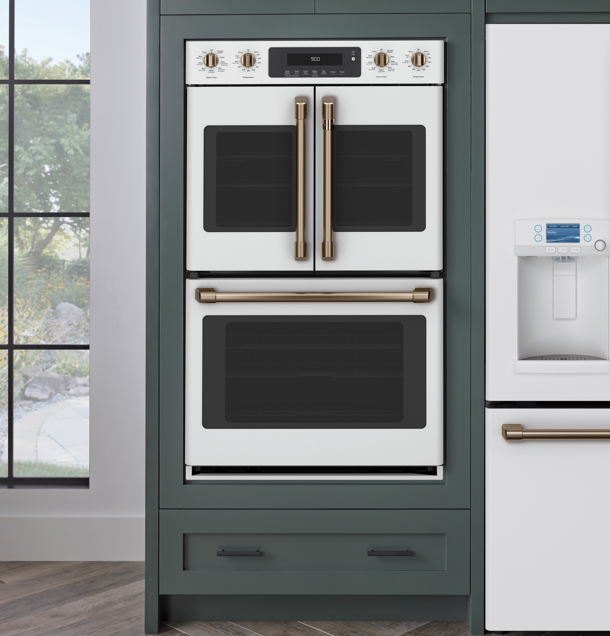 """Café™ 30"""" Smart French-Door, Double Wall Oven with Convection 