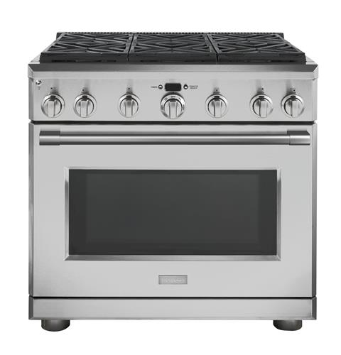 "Thumbnail of Monogram 36"" All Gas Professional Range with 6 Burners (Natural Gas)"