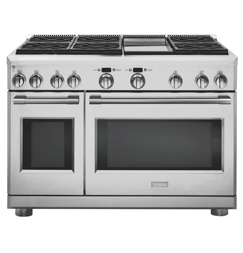 "Thumbnail of Monogram 48"" All Gas Professional Range with 6 Burners and Griddle (Natural Gas)"