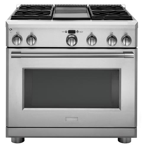 "Thumbnail of Monogram 36"" All Gas Professional Range with 4 Burners an Griddle (Natural Gas)"