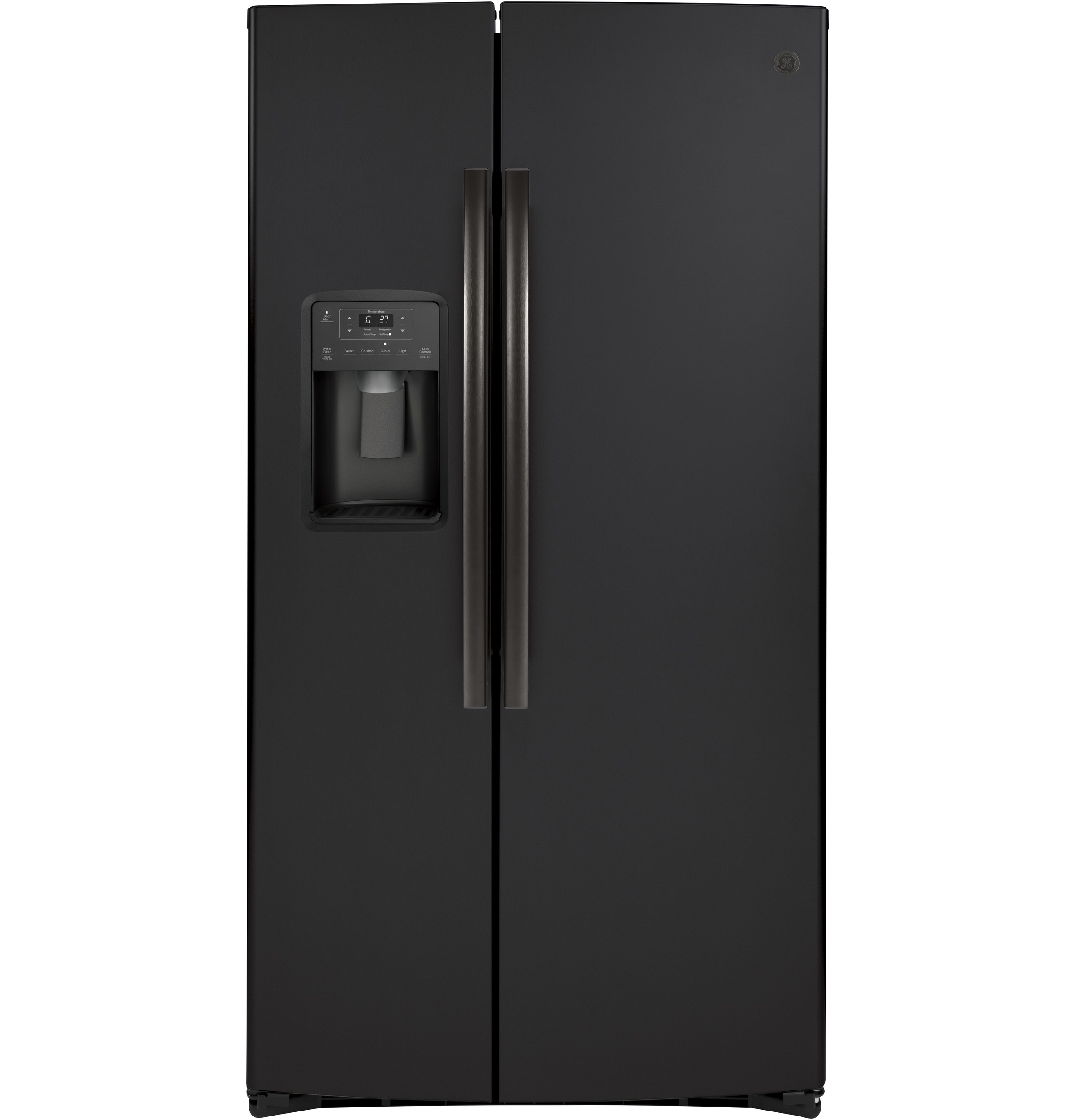 Ge 174 25 1 Cu Ft Side By Side Refrigerator Gss25iends