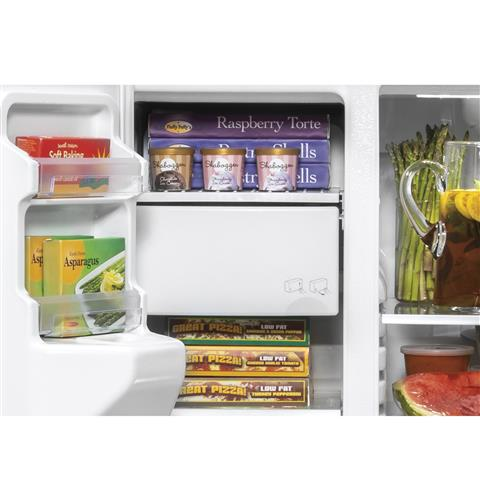Glass freezer shelves