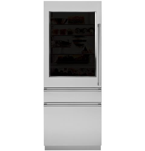"""Thumbnail of Monogram 30"""" Integrated Glass-Door Refrigerator for Single or Dual Installation 3"""