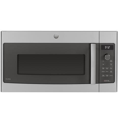 GE Profile™ Over-the-Range Oven with Advantium® Technology– Model #: PSA9120SFSS