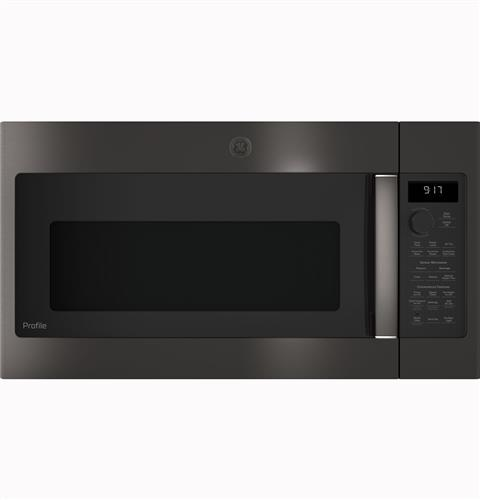 GE Profile™ 1.7 Cu. Ft. Convection Over-the-Range Microwave Oven– Model #: PVM9179BLTS