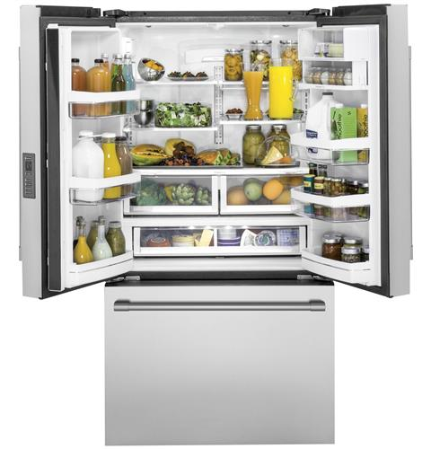 Thumbnail of Monogram ENERGY STAR® 23.1 Cu. Ft. Counter-Depth French-Door Refrigerator 2