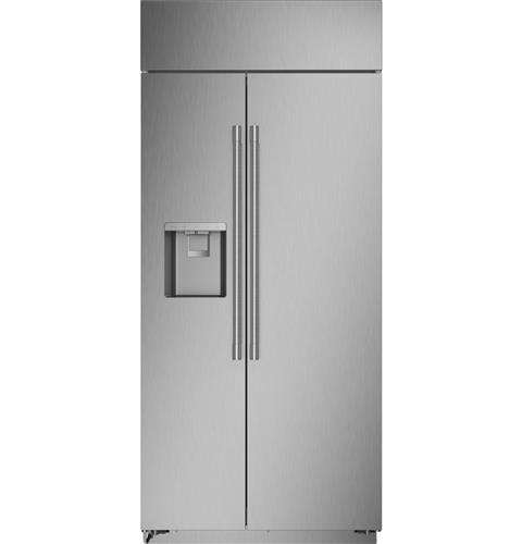 "Thumbnail of Monogram 36"" Smart Built-In Side-by-Side Refrigerator with Dispenser"