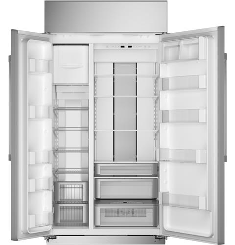 """Thumbnail of Monogram 42"""" Smart Built-In Side-by-Side Refrigerator 3"""