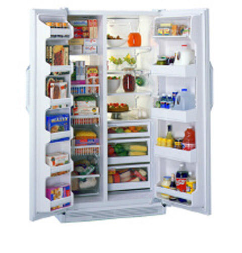 GE Profile™ Side-by-Side, No Frost, 715 Liters (Freezer 262 Liters), None Dispenser