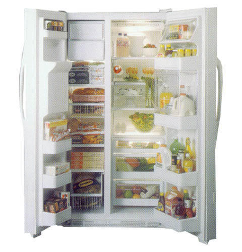 GE Profile Performance™ 28.2 Cu. Ft. Capacity Side by Side Refrigerator with Refreshment Center