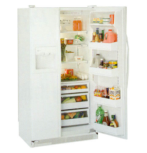 GE Profile™ Side-by-Side, No Frost, 576 Liters (Freezer 203 Liters), Spill Proof Shelves, Adjustable Temperature Bins