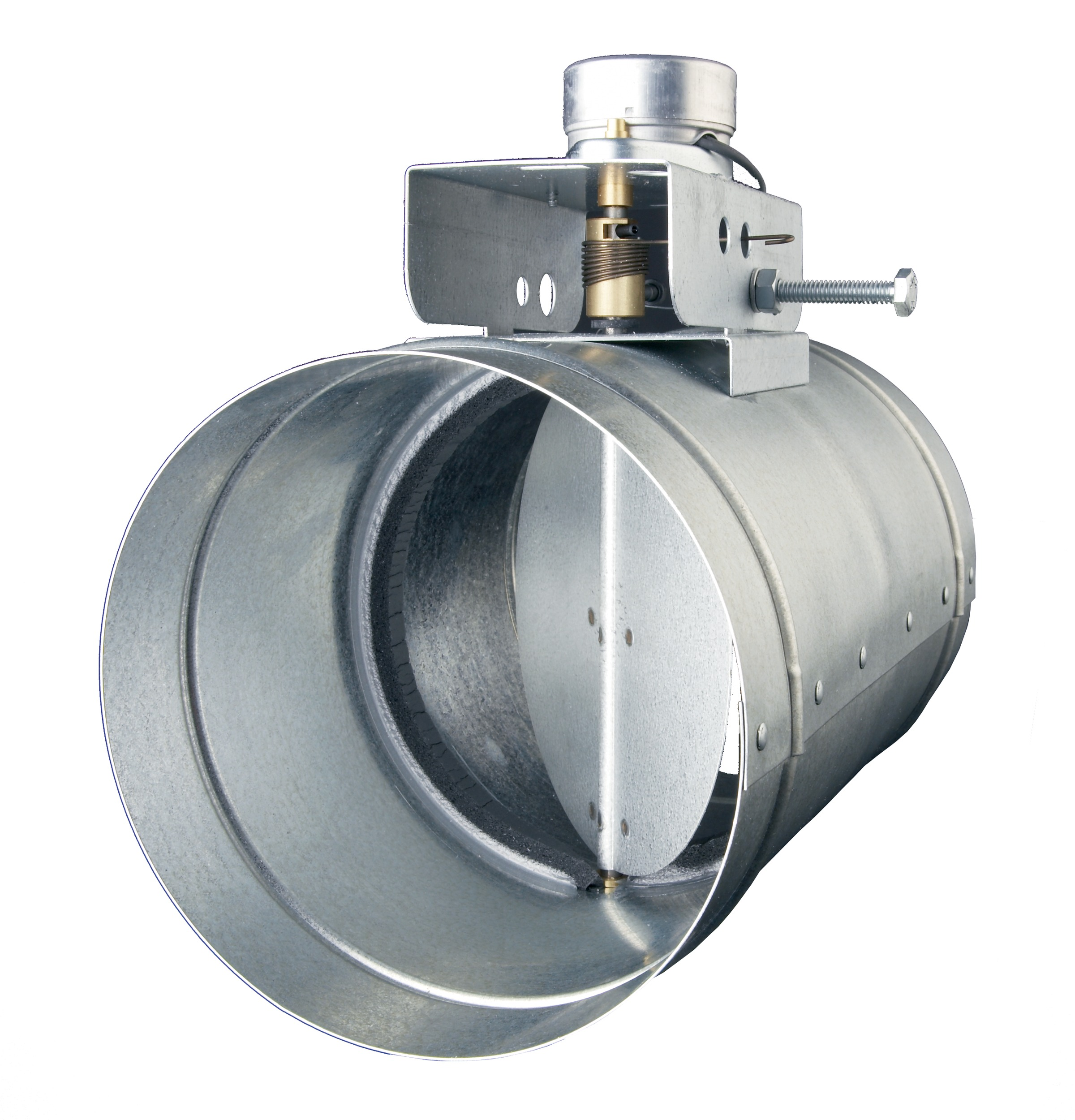 Universal Automatic Make Up Air Damper For 6 Duct