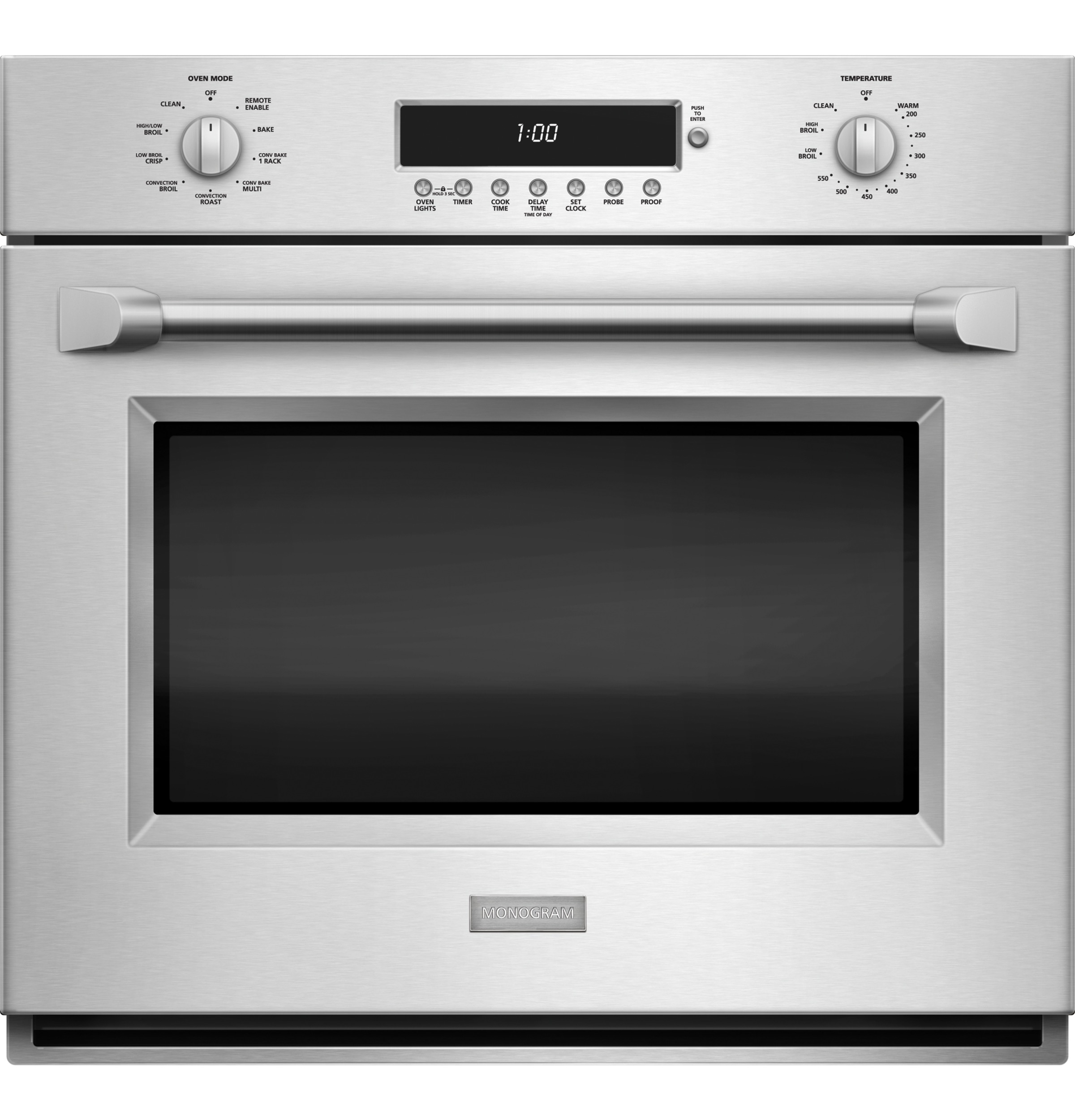 Single Wall Ovens ~ Monogram quot professional electronic convection single