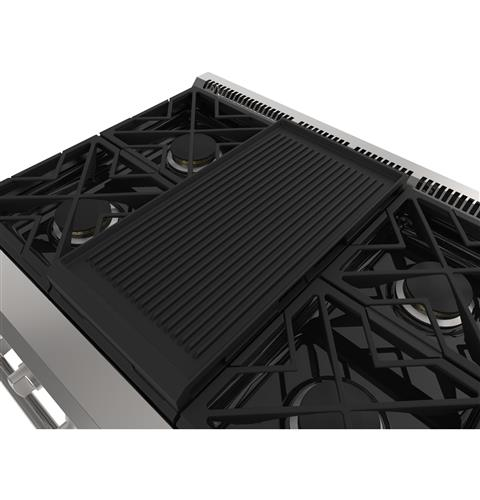 "Thumbnail of Monogram 48"" Professional Gas Rangetop with 6 Burners and Griddle (Natural Gas) 9"