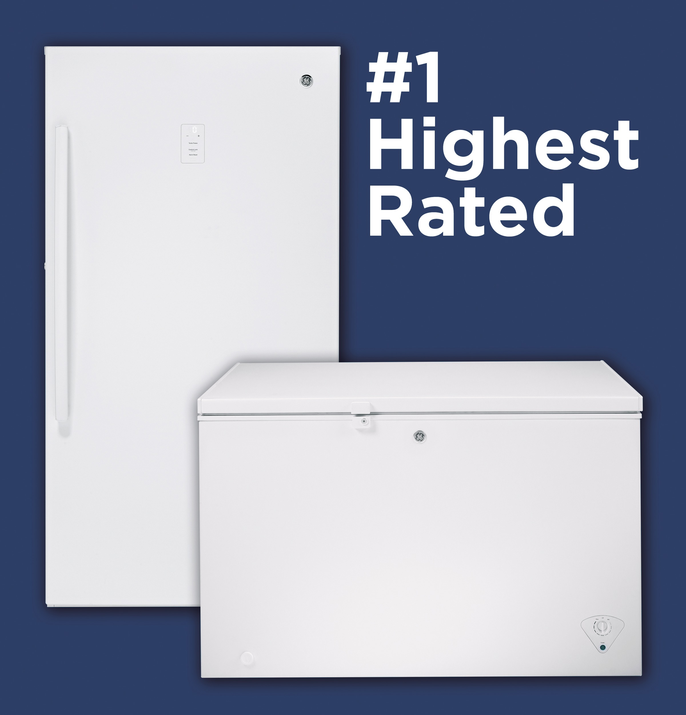 The highest rated upright freezer lineup in the industry
