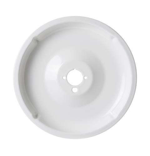 Range Drip Bowl - Large, White — Model #: WB31K5092