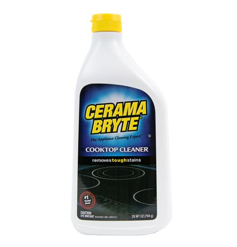 Cerama Bryte smooth top range cleaning kit, includes cleaner and scraper — Model #: WB64X5027