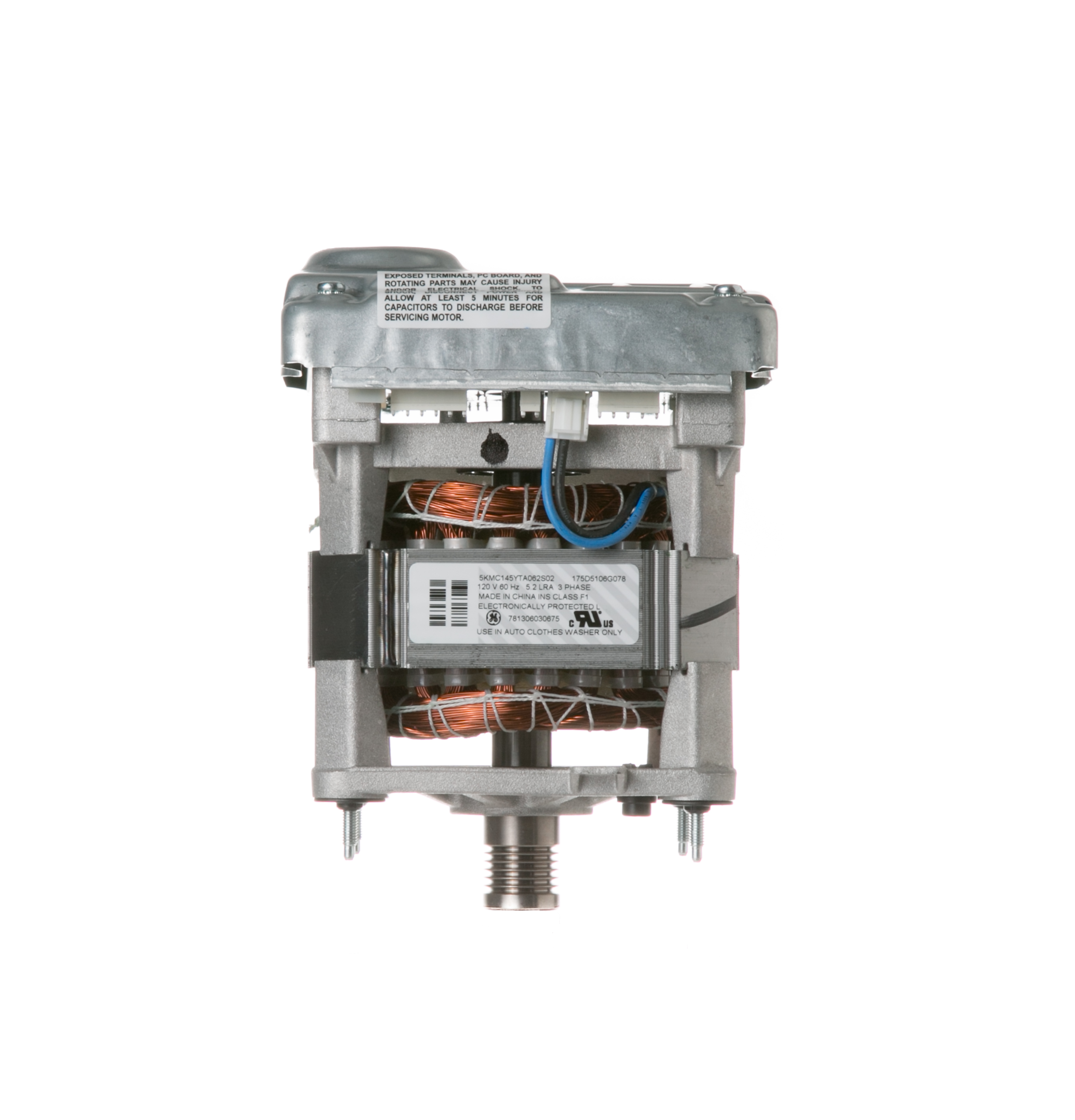 Wh20x10093 washing machine motor and inverter ge for Ge motor parts online