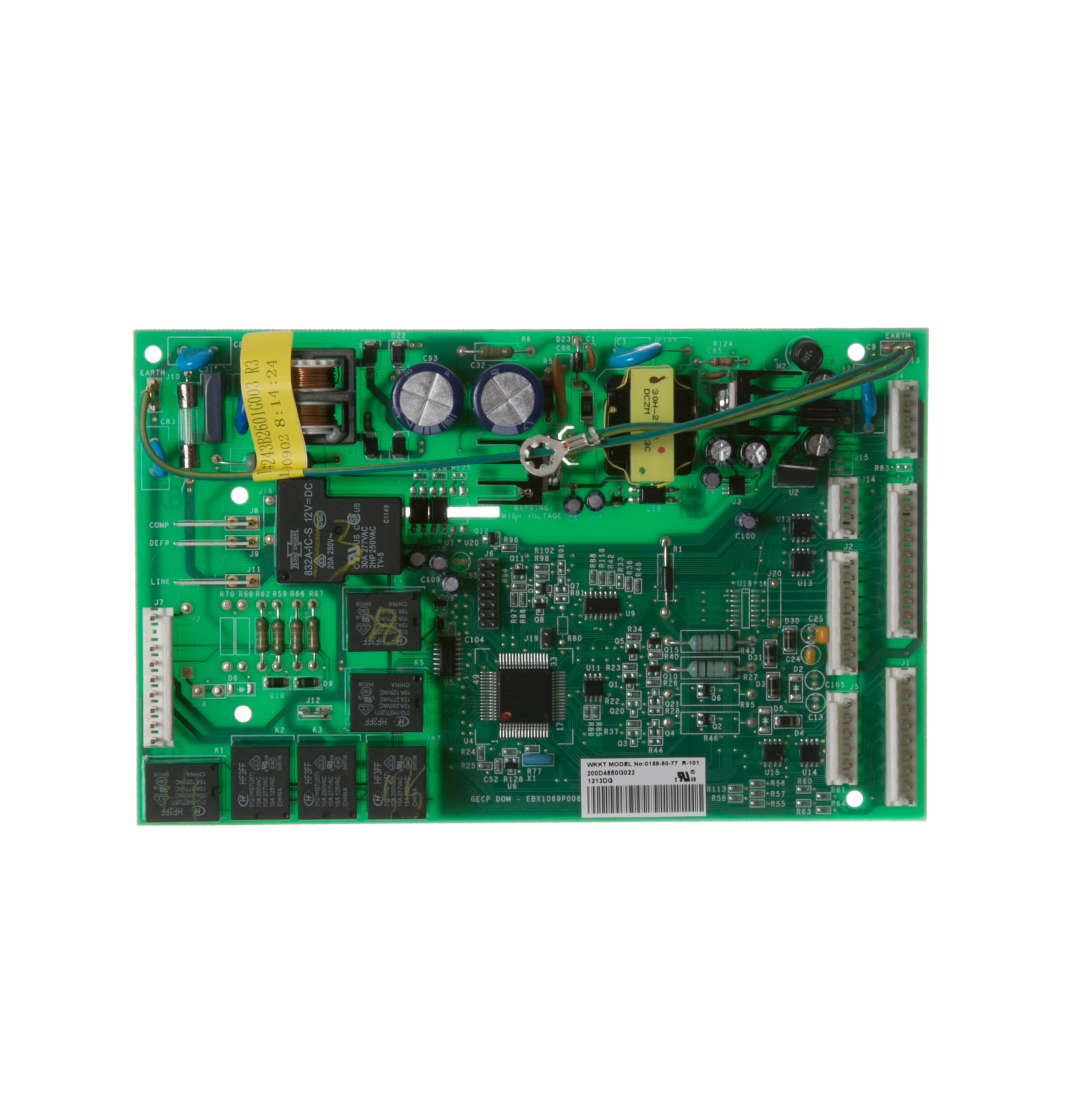 ge refrigerator control board wiring diagram wr55x10942 refrigerator main control board assembly ge  main control board assembly