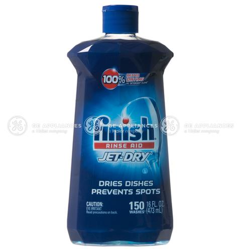 finish® Jet-Dry® Rinse Aid — Model #: WX10X10210