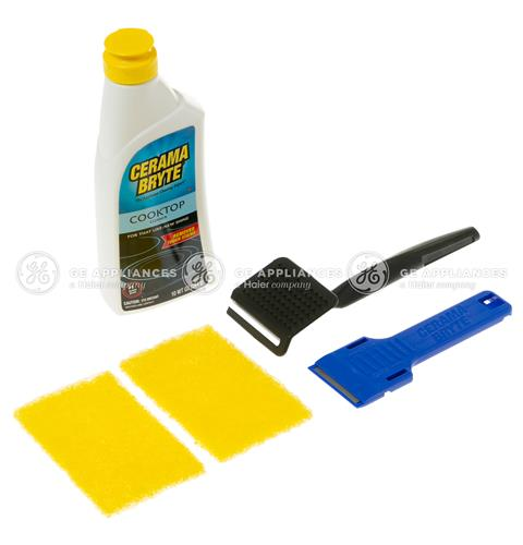 CERAMA BRYTE® COOKTOP CLEANING KIT — Model #: WX10X119