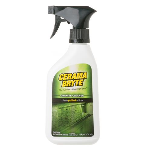 Cerama Bryte Granite Cleaner — Model #: WX10X310