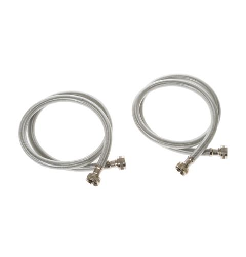 2 PK - Stainless Steel 4 ft Hoses — Model #: WX14X10005