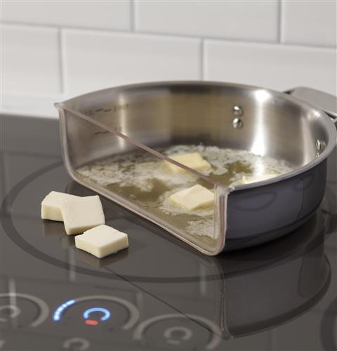 Induction Cooktop Griddle ~ Ge café™ series quot built in touch control induction